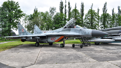4112 - Mikoyan-Gurevich MiG-29 Fulcrum - Poland - Air Force