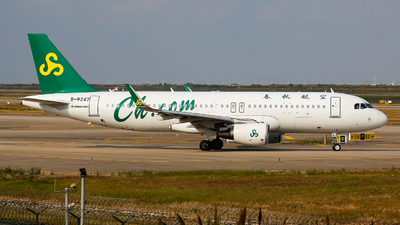 A picture of B8247 - Airbus A320214 - Spring Airlines - © Keanu Chen