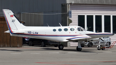 HB-LNW - Cessna 340A - Private