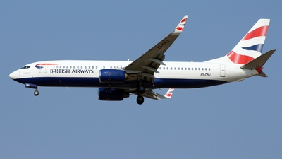 ZS-ZWJ - Boeing 737-8F2 - British Airways (Comair)