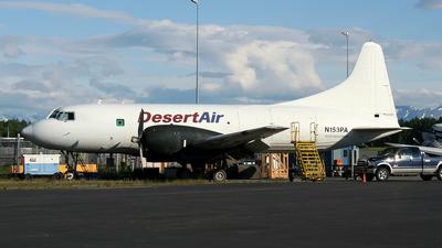 N153PA - Convair CV-240 - Desert Air Transport