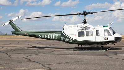 N110SD - Bell UH-1V Iroquois - United States - Pinal County Sheriff