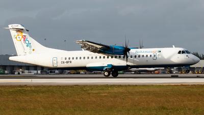 A picture of C6BFR - ATR 72600 - Bahamasair - © Orlando Suarez