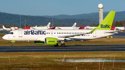 A picture of YLCSI - Airbus A220300 - Air Baltic - © Laszlo Fekete