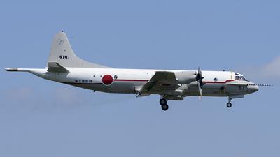 9151 - Kawasaki UP-3C Orion - Japan - Maritime Self Defence Force (JMSDF)