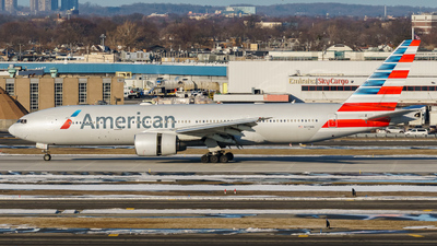 A picture of N779AN - Boeing 777223(ER) - American Airlines - © ne.planespotter