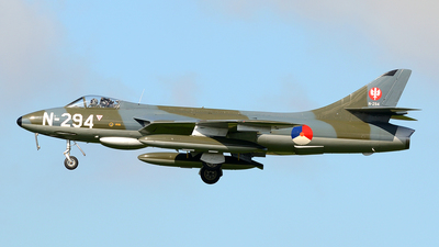 G-KAXF - Hawker Hunter F.6A - Dutch Hawker Hunter Foundation