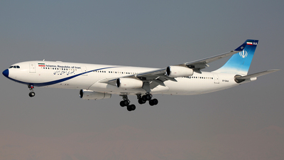 EP-DAA - Airbus A340-313X - Iran - Government