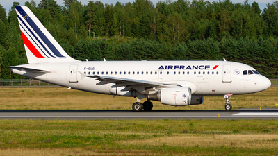 A picture of FGUGI - Airbus A318111 - Air France - © Laszlo Fekete