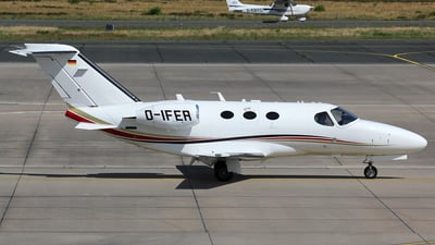A picture of DIFER - Cessna 510 Citation Mustang - HTM Helicopter Travel Munich - © Christian Weber