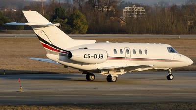 CS-DUB - Raytheon Hawker 750 - NetJets Europe