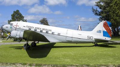 FAU510 - Douglas C-47A Dakota III - Uruguay - Air Force