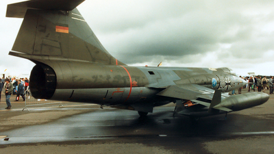 20-08 - Lockheed F-104G Starfighter - German Democratic Republic - Air Force
