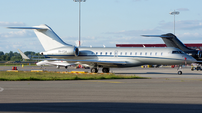 A picture of 9HFCA - Bombardier Global 6000 -  - © Dutch