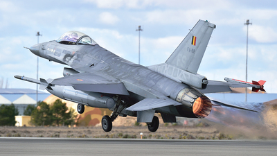 FA-92 - General Dynamics F-16AM Fighting Falcon - Belgium - Air Force