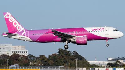 JA806P - Airbus A320-214 - Peach Aviation