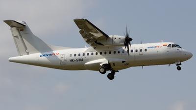 A picture of HK5314 - ATR 42600 - EasyFly - © eifer_dsi