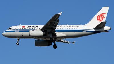 B-6024 - Airbus A319-132 - Air China