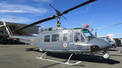 FAC4531 - Bell UH-1P Iroquois - Colombia - Air Force