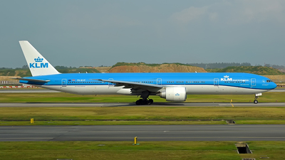 PH-BVP - Boeing 777-306ER - KLM Royal Dutch Airlines