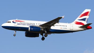 A picture of GEUPS - Airbus A319131 - British Airways - © Stefan Alexandru