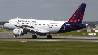 OO-SSF - Airbus A319-112 - Brussels Airlines