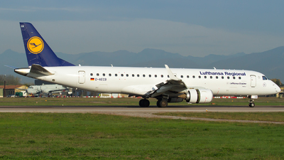 D-AECB - Embraer ERJ-190LR - Lufthansa Regional (CityLine)