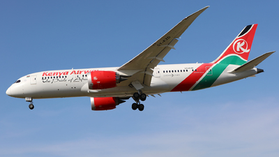 A picture of 5YKZD - Boeing 7878 Dreamliner - Kenya Airways - © J.M.Carballo