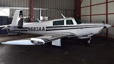 N683AA - Mooney M20K-231 - Private