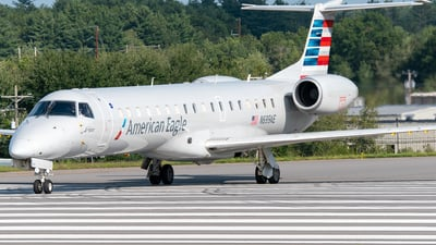 A picture of N699AE - Embraer ERJ145LR - American Airlines - © Jake  Sevigny