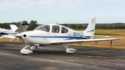 N824CD - Cirrus SR20 - Private