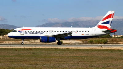 A picture of GMIDO - Airbus A320232 - British Airways - © Javier Rodriguez - Amics de Son Sant Joan