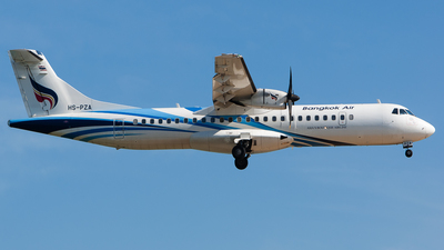 HS-PZA - ATR 72-212A(600) - Bangkok Airways