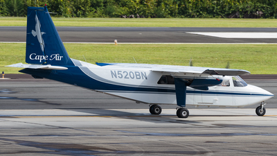 A picture of N520BN - BrittenNorman BN2B20 - [2240] - © Hector Rivera - Puerto Rico Spotter