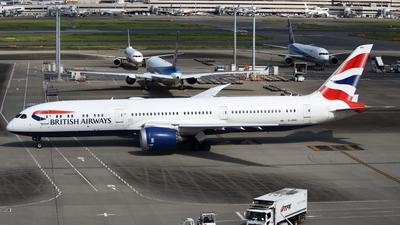 A picture of GZBKI - Boeing 7879 Dreamliner - British Airways - © Yoshiharu Ozaki