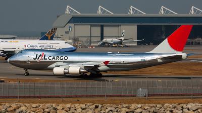 JA401J - Boeing 747-446F(SCD) - JAL Cargo