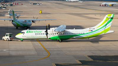 A picture of ECLAD - ATR 72500 - Binter Canarias - © Pablo Gonzalez de Leon