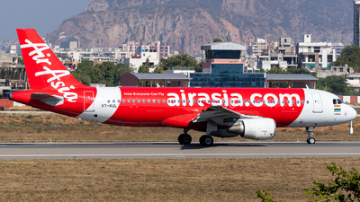 A picture of VTKUL - Airbus A320216 - AirAsia - © Rohan Paliwal