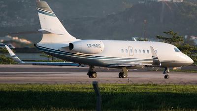 LV-HQC - Dassault Falcon 2000 - Private