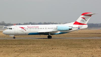 OE-LFQ - Fokker 70 - Austrian Airlines (Tyrolean Airways)