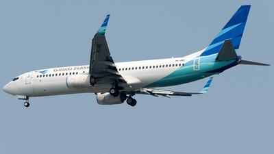 A picture of PKGMZ - Boeing 7378U3 - Garuda Indonesia - © Bernard Effendy