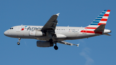 N837AW - Airbus A319-132 - American Airlines