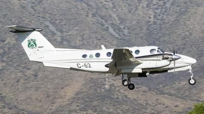 C-62 - Beechcraft 200 Super King Air - Chile - Carabineros