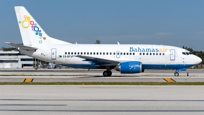 C6-BFD - Boeing 737-5H6 - Bahamasair