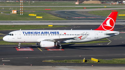 A picture of TCJPT - Airbus A320232 - Turkish Airlines - © Johannes Wirl