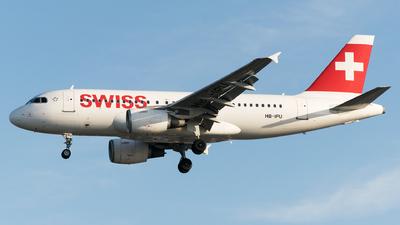 A picture of HBIPU - Airbus A319112 - [0713] - © Daniel Riederer