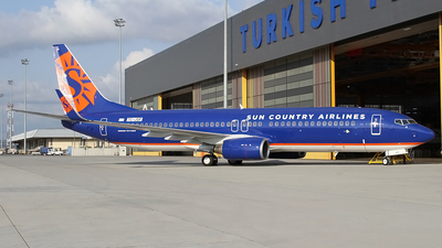 TC-JGP - Boeing 737-8F2 - Sun Country Airlines