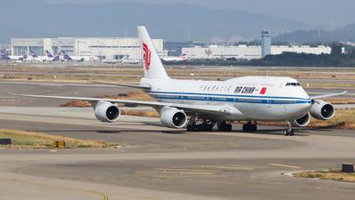 A picture of B2481 - Boeing 74789L - Air China - © Ayase Yukari
