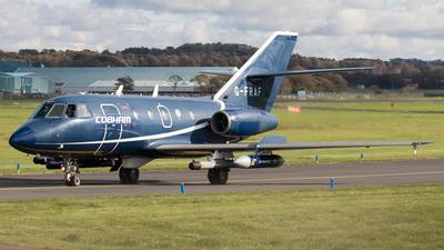 A picture of GFRAF - Dassault Falcon 20 - Cobham Aviation Services - © Rolf Jonsen