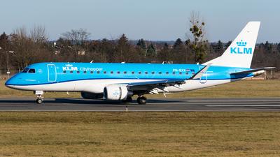 A picture of PHEXX - Embraer E175STD - KLM - © Michal Furmanczak
